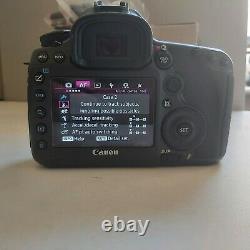 Canon Eos 5ds Réflex Numérique Corps De Caméra Low Shutter Count 7000 Pristine