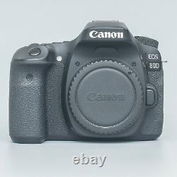 Canon Eos 80d Digital Slr Camera Body
