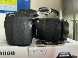 Canon Eos 80d Digital Slr Camera Body Avec Objectif De 18-135mm