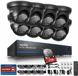 Cctv Dvr 16 Channel 1080n/1080p Caméras D'enregistrement Vidéo Moniteur De Disque Dur 2 To