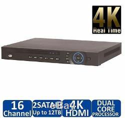 Dahua Oem Nvr4216-4ks2 16 Ch Security Network Video Recorder Onvif 12m Caméra Ip
