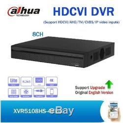 Dahua Xvr5108hs-4kl-x H. Enregistreur Vidéo Numérique Compact 1u 8 Canaux 4k