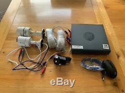Digital Video Recorder Dvr4-4600 4 Canaux Et 2 X Pro-a855 Caméras