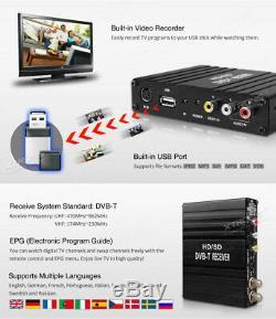 En Voiture Haute Vitesse Dvb-t Tnt Récepteur Tv Numérique Tuner Box & Video Recorder