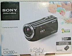 Enregistreur Caméra Numérique Hd Sony Mhd-cx380 +2 Batteries + Étui + 64 Go