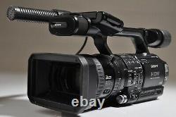 Enregistreur De Caméras Vidéo Hd Numérique Sony Hvr-z1u Tel Quel