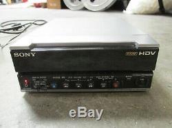 Enregistreur De Cassette Vidéo Hd Numérique Sony Dsr-25 / Hdv / DV / Dvcam Vtr