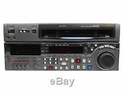 Enregistreur De Cassette Vidéo Sony Dvw-2000p Def2 Digital Betacam Studio