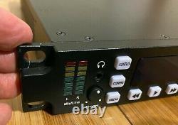 Enregistreur De Fichiers Vidéo Numérique Aja Ki Pro Rack Avec Apple Prores 422 1ru Hd Record