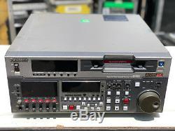 Enregistreur Dvcpro Panasonic Aj-hd150p Enregistreur Numérique À Cassette Vidéo Hd