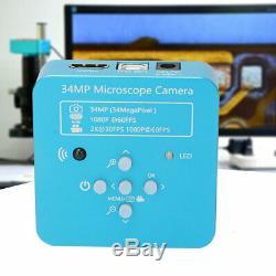 Enregistreur Numérique Industriel De Caméra De Microscope De Zoom Numérique De Vidéo De 34mp Hdmi Usb 1080p