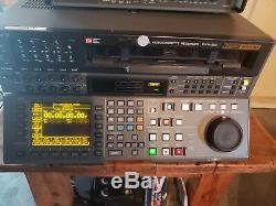 Enregistreur Vidéo De Montage Numérique Sony Digital Betacam Digibeta Dvw-500 Dvw 500, Fonctionne Bien