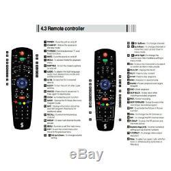 Enregistreur Vidéo Dvr 1080p À Disque Dur De 500 Go Srt7014 Hd Twin Tuner Digital