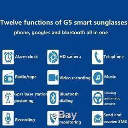 Enregistreur Vidéo Intelligent D'appareil Photo Numérique D'appels Numériques À Lunettes Portable Bluetooth