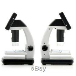 Enregistreur Vidéo Numérique 3,5 Pouces LCD 500x Desktop Microscope 5mp Hd Usb Tv Royaume-uni