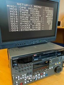 Enregistreur Vidéo Numérique Betacam Studio Sony Dvw-a500p