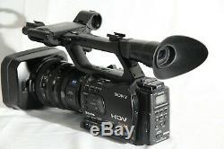 Enregistreur Vidéo Numérique Haute Définition Sony Hvr-z7u Avec Mrc1