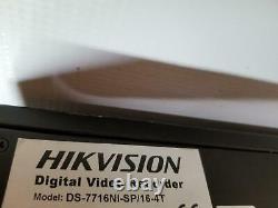 Enregistreur Vidéo Numérique Hikvision Ds-7716ni-sp#