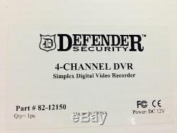Enregistreur Vidéo Numérique Mobile Pour Appareils 4 Cames Pro En Voiture 12v DC + Usb Defender 82-12150