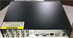 Enregistreur Vidéo Numérique Oyn-x Qvis 4-en-1 Hybride 1080n 8 Canaux Hdd 2tb P2p