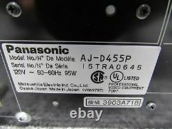 Enregistreur Vidéo Numérique Panasonic Aj-d455 Testé