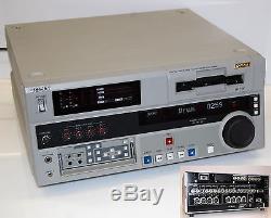 Enregistreur Vidéo Numérique Profi Sony Dsr-1800ap Dvcam Master Serie # I180