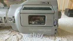 Enregistreur Vidéo Numérique Sony Dcr-vx1000 Caméscope Et Boîtier De Vol