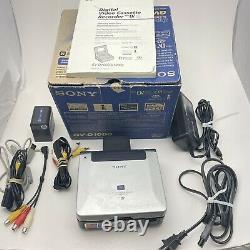 Enregistreur Vidéo Numérique Sony Gv-d1000 Ntsc Mini DV Avec Manuel Et Boîte