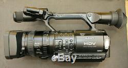 Enregistreur Vidéo Numérique Sony Hd Hvr-z1e En Bon État D'utilisation