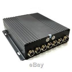 Enregistreur Visuel Mobile Numérique De La Manche Dvr 4 Pour Des Systèmes De Sécurité De Télévision En Circuit Fermé De Voiture