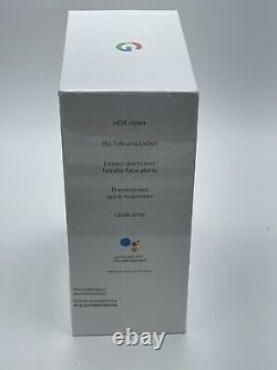 Google Nest Hello Smart Wi-fi Video Doorbell (nc5100us) Nouvelle Marque Scellée