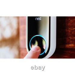 Google Nest Hub Avec Google Assistant (ga00516-us) Et Google Nest Hello Doorbell