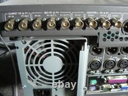 Grass Valley M-series Type M 222d 2 Dans 2 Video Intelligent Enregistrant Numérique