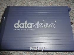 Hdv Datavideo Dn-300 Enregistreur Vidéo Audio Numérique Composite S-vidéo 250go