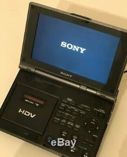 Hdv Sony Walkman Vidéo Gv-hd700e Magnétoscope Numérique DV / Mini DV Pal Lecteur / Enregistreur