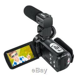 Hdv-z20 Enregistreur Vidéo Full Hd 1080p Avec Caméscope Numérique Wifi