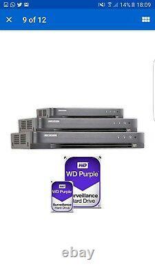 Hikvision 8mp 8 Canal Dvr 500 Go Hdfull Ultra Hd Enregistreur Vidéo Ds-7208huhi-k1