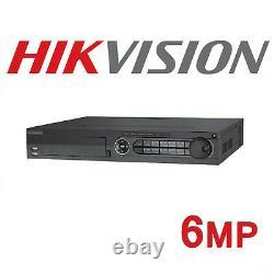 Hikvision Nvr 16 Canaux Poe Network Enregistreur Vidéo Jusqu'à 24tb Ds-7716ni-e4/16p
