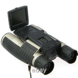 Jumelles 12x32 Enregistreur Vidéo De Caméra Numérique 5mp 1080 Full Hd