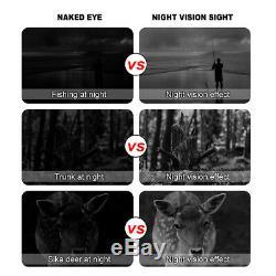 Jumelles De Vision Nocturne Lunettes Hd Enregistrement Hunting Infrarouge Digital Photo Vidéo
