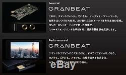 Lecteur Audio Numérique Onkyo Granbeat Sim Haute Résolution 128 Go Dp-cmx1 (b) Japon F / S