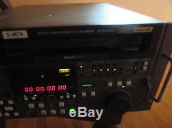 Lecteur De Cassettes Vidéo Sony Dvw -a 500 Digital Beta