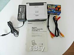 Lecteur De Cassettes Vidéo Sony Video Walkman Digital Gv-dv800e Pal