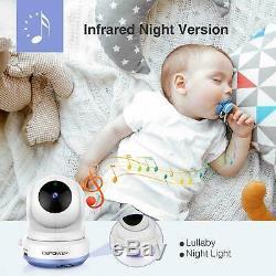 Moniteur Dbpower Digital Sound Activated Vidéo Baby Record De 4,3 Pouces Couleur LCD Nouveau