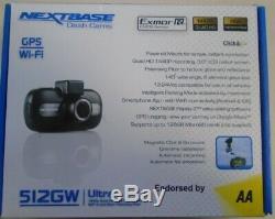 Nextbase 512gw Caméra Dash Cam Accident De Voiture Enregistreur Vidéo Numérique