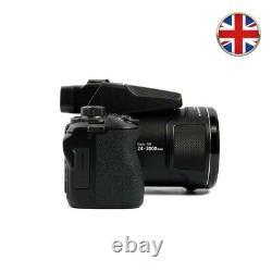 Nikon Coolpix P1000 Caméra Numérique 16mp 125x Zoom Optique 4k Video Recording 7pc