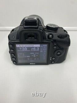 Nikon D3200 Appareil Photo Numérique Slr 18-55 Af-s DX Vr II Objectif