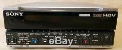 Non Testé Sony Hvr-m15au Hdv / Dvcam / Minidv Numérique Hd Video Cassette Tape Recorder