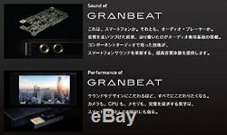 Nouveau Onkyo Dp-cmx1 (b) Lecteur Audio Numérique Granbeat Hi-res Black De Japan
