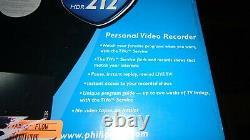 Nouveau Récepteur De Télévision Philips Hdr 212 Tivo Digital Video Recorder